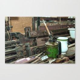 Oiled  Canvas Print