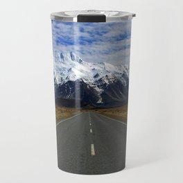 Aoraki Mountain Cook National Park Canterbury New Zealand Ultra HD Travel Mug