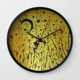 There is a happy land where only children live Wall Clock