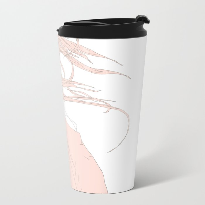 BLOWIN' IN THE WIND Metal Travel Mug