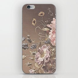 Pastel Bouquet with Peonies iPhone Skin