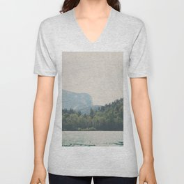 into the wilderness she went ... Unisex V-Neck