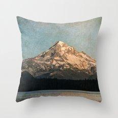 Happy Mountain :) Throw Pillow