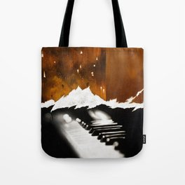 Music Triptych: Piano Tote Bag