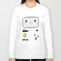 bmo Long Sleeve T-shirts featuring BMO by I3uu