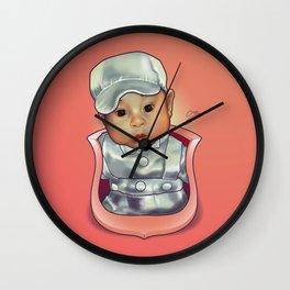Y's Baby Crest Wall Clock