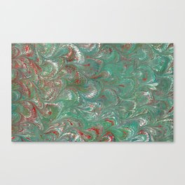 My marbled paper Canvas Print