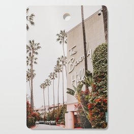 The Beverly Hills Hotel / Los Angeles, California Cutting Board
