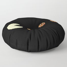 Hunting pizzas Floor Pillow