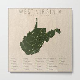 West Virginia Parks Metal Print