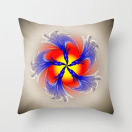 Abstract - Perfection 49 Throw Pillow