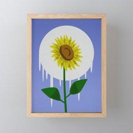 Sunflower in the Moon Framed Mini Art Print