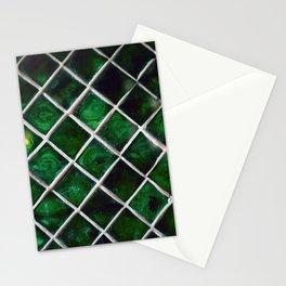 Emerald Pattern Stationery Cards