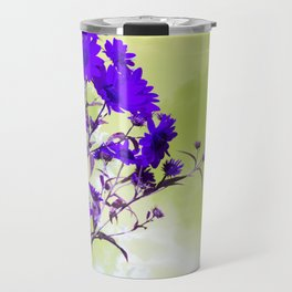 Purple Daisies Travel Mug