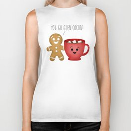 You Go Glen Cocoa! Biker Tank