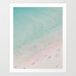 beach - summer of love III Art Print