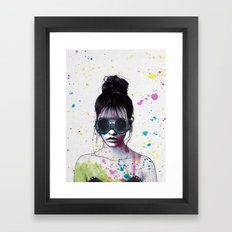 Splat Framed Art Print