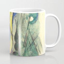 """Franz Marc """"Abstraktes Aquarell II"""" Coffee Mug"""