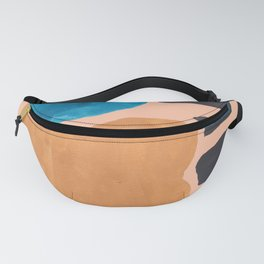 13| 190330 Abstract Shapes Painting Fanny Pack