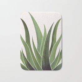 Vintage Agave / Desert Succulent Bath Mat