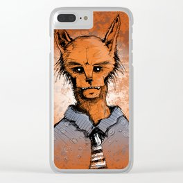 Wolfman Clear iPhone Case