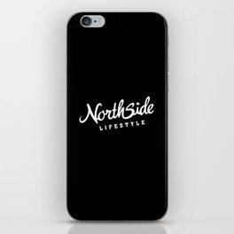 North Side Lifestyle Signature (white) iPhone Skin
