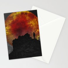 ash and fire Stationery Cards