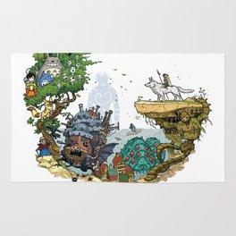 Studio Ghibli Rug