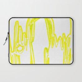 Angel in Yellow Laptop Sleeve