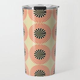 Red & Black Atomic Travel Mug