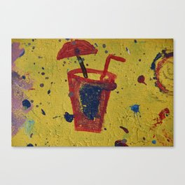 A little drink Canvas Print