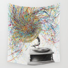 Sight of Sound Wall Tapestry