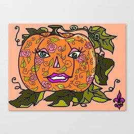 Pretty Pumpkin Canvas Print