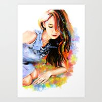 snsd Art Prints featuring The Midas Touch by Kimberly Phan