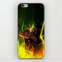 fight iPhone & iPod Skins featuring Fight! by faun-songs