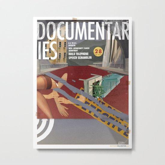 Vans and Color Magazine Customs Metal Print