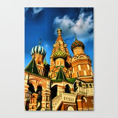 Moscow, Russia. Canvas Print