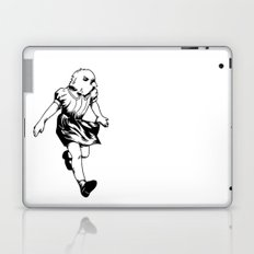 just a girl Laptop & iPad Skin