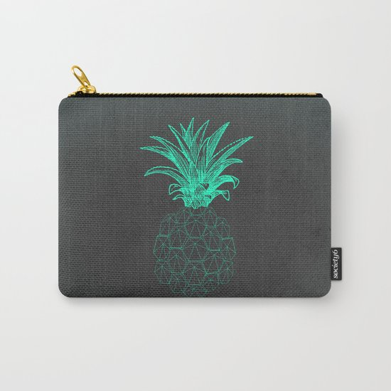 pineapple got the blues Carry-All Pouch