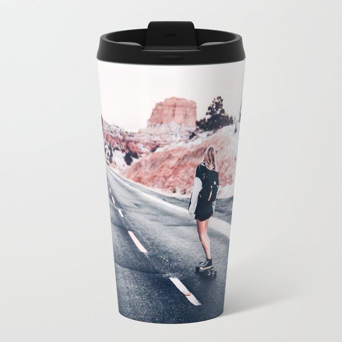 chase your dreams 2 Travel Mug
