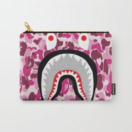 Bape Shark Pink Carry-All Pouch