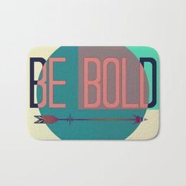 """""""Be Bold"""" Pastel Block Abstract Badematte"""