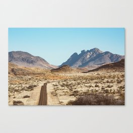 The Lost Highway III Canvas Print