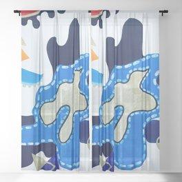 Splash Sheer Curtain