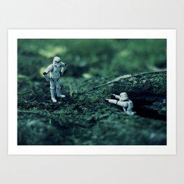 trooper hike Art Print