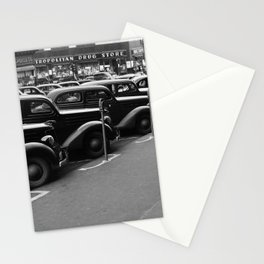 Vintage Parked Cars - Nebraska - 1938 Stationery Cards
