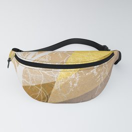 TREE INTO GEOMETRIC WOLRD NO4 Fanny Pack