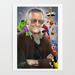 Stan Lee - Marvelous Creations Poster