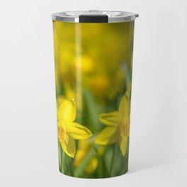 Tiny Daffodils Travel Mug