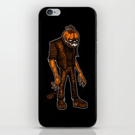 Autumn People 4 iPhone Skin